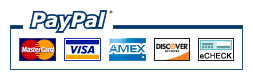 We accept payments by Credit,Debit Cards, Paypal