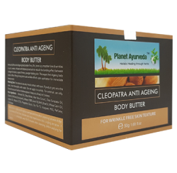 Beauty & Cosmetics / Cleopatra Anti Ageing Body Butter